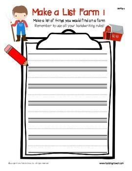 Make a List!