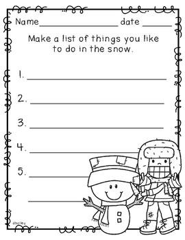 Make a List - January Edition
