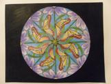 Make a Mandala a Radial Design Art Lesson Plan