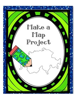 Make a Map Geography Project (Grades 1-3)