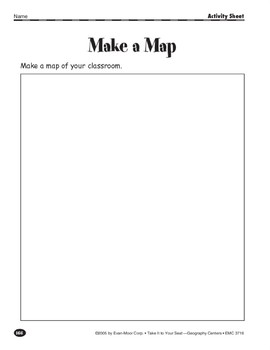 Make a Map: Parts of a Map