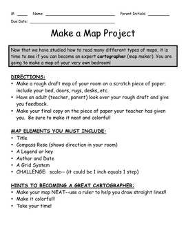Make a Map Project