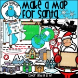 Make a Map for Santa Clip Art Set - Chirp Graphics