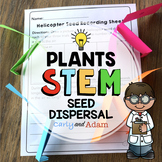 Plant Seed Dispersal Spring STEM Activity