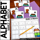 Make a Match  Alphabet Activities to Teach Letter Recognition