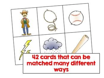 Make a Match Writing Activity