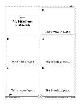 Make a Material Book (Properties of Objects & Materials)
