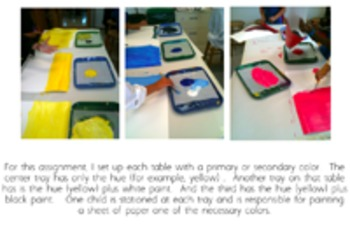 Make a Matisse Collage With Hand-Painted Paper