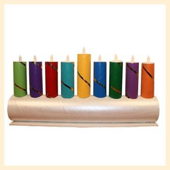 Make a Menorah for Hanukkah
