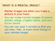Make a Mental Image - Visualize