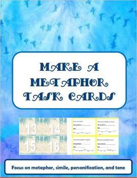Make a Metaphor Task Cards