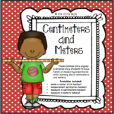 Make-a-Meter Stick: Centimeters and Meters