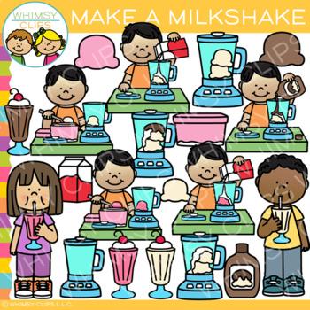 Make a Milkshake Clip Art