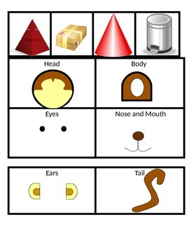 Make a Monkey Geometry Faces Edges and Vertices Game