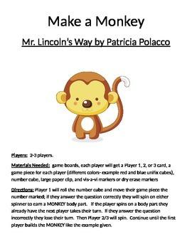 Make a Monkey: Mr. Lincoln's Way by Patricia Polacco