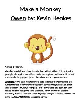Make a Monkey Owen by Kevin Henkes