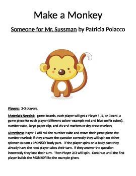 Make a Monkey Someone for Mr. Sussman by Patricia Polacco