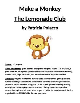 Make a Monkey: The Lemonade Club by Patricia Polacco
