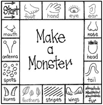 Make-a-Monster Activity