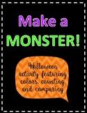Make a Monster Halloween Activity