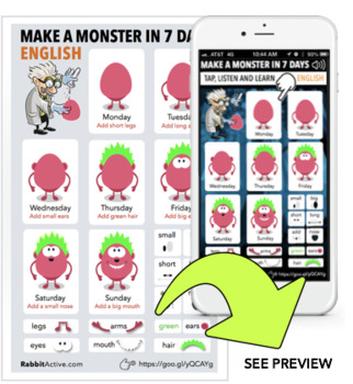 Make a Monster in 7 Days > PDF + Interactive Lesson