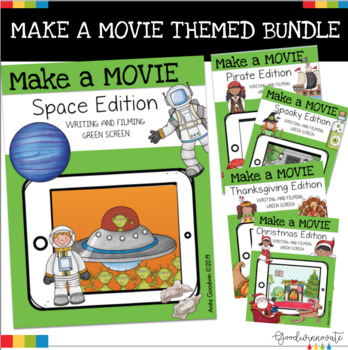 Green Screen Make a Movie- Bundle for Green Screen Projects