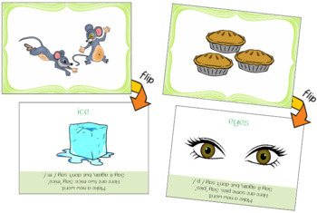Make a New Word: Take Away the First Sound [Phonemic Awareness FlipCards Set 1A]