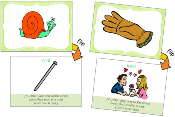 Make a New Word: Take Away the First Sound [Phonemic Awareness FlipCards Set 1B]