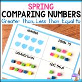 Make a Number Math Center (Spring)