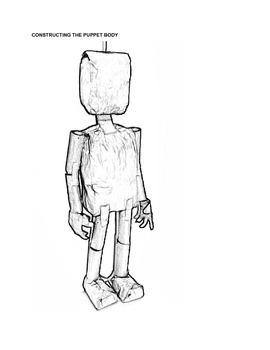 Make a Paper Bag Marionette Puppet