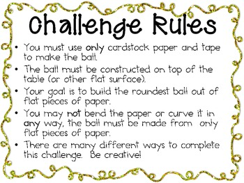 Make a Paper Ball: Engineering Challenge Project ~ Great STEM Activity!