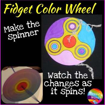 Make a Paper Fidget Spinning Wheel Craft and Science
