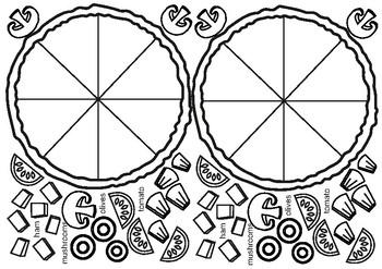 Make a Pizza! Worksheet