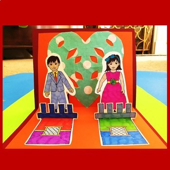 Mexico! Alley of the Kiss Pop Up Card Craft