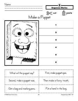 Make a Puppet (Sequence Stories)
