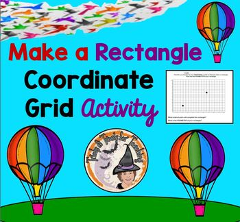 Make a Rectangle Activity Coordinate Grid Plane Ordered Pa
