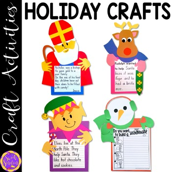 Holiday Craft BUNDLE! - (craft templates and step-by-step instructions)