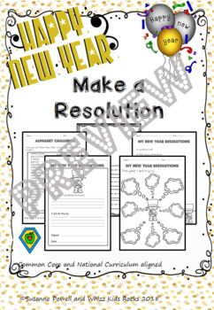 Make a Resolution for New Year 2013