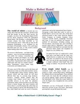 Make a Robot Hand!