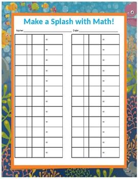 Make a SLASH with Math