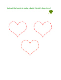 Make a Saint Patrick Clover