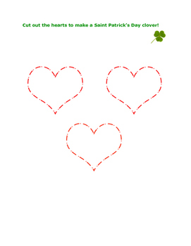 Make a Saint Patrick Clover