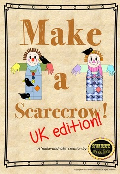 Make a Scarecrow! - (formatted for A4 UK and Australia)