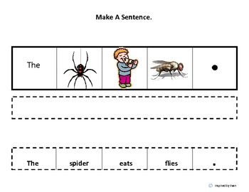 "Make a Sentence About ""BUGS"" for Autism"