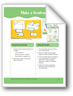 Make a Sentence (File Folder Center)