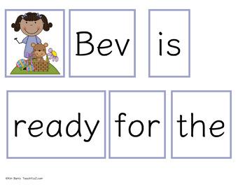 Make a Sentence Set 17 - Easter Edition