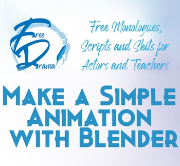 Make a Simple Animation in Blender (Word doc version)