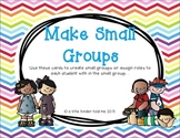 Make a Small Group cards
