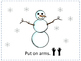 Make a Snowman: Book & Activity