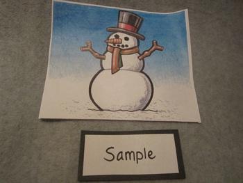 Create a Snowman Fun Craft Art